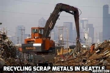 Seattle scrap iron and steel yard quick unload